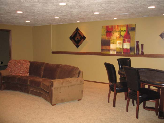 Large open basement